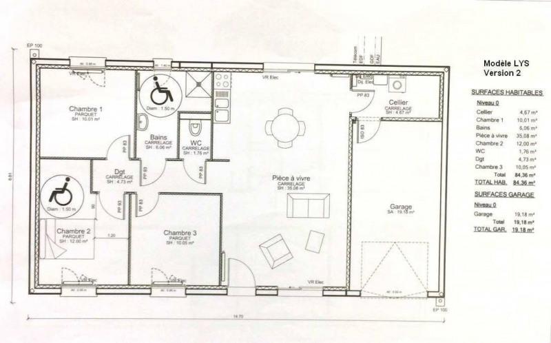 Sale house / villa Lons le saunier 5 mns 163000€ - Picture 6