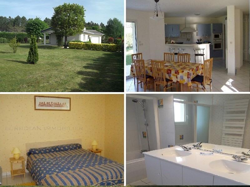 Vacation rental house / villa Le porge 495€ - Picture 1
