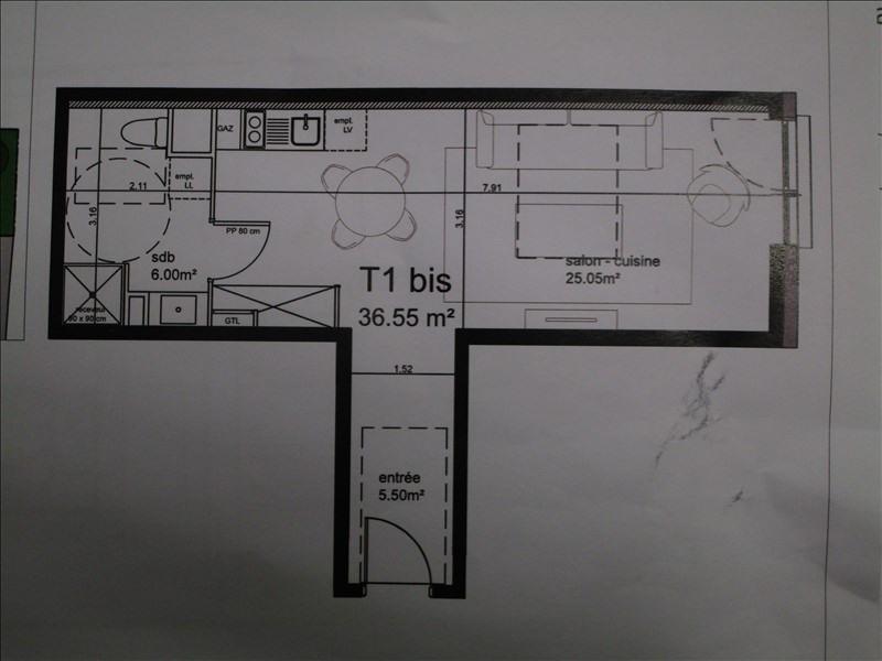 Location appartement Cenon 482€ CC - Photo 1