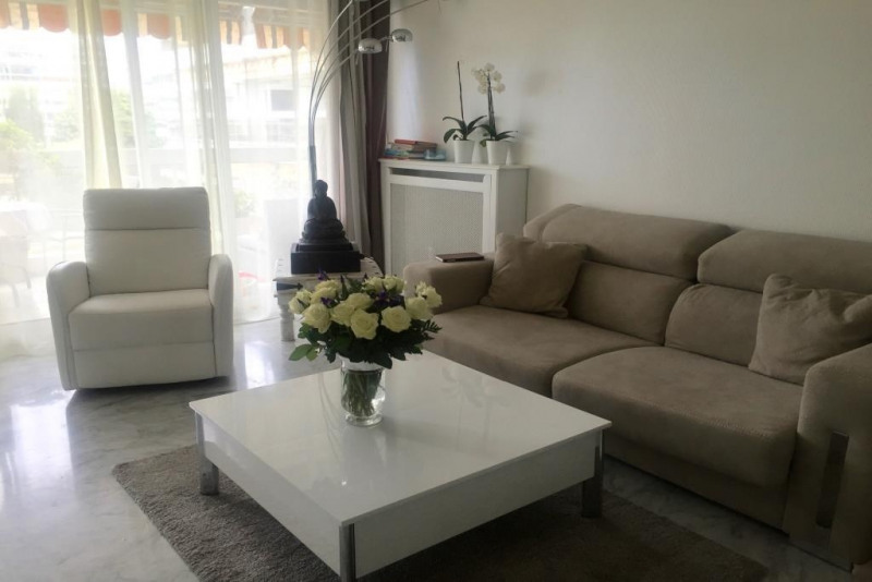 Rental apartment Juan les pins  - Picture 2