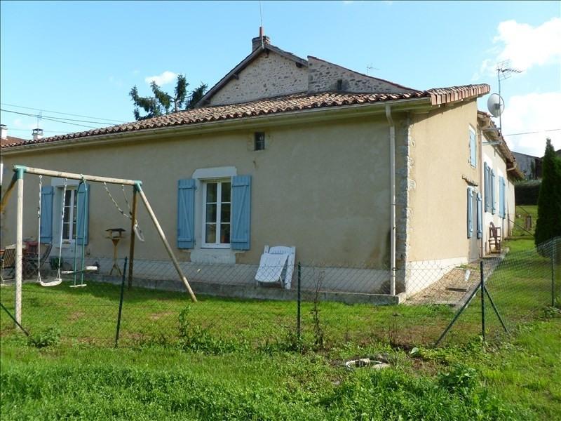 Vente maison / villa Marigny chemereau 154000€ -  1