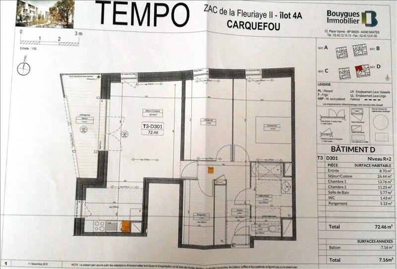 Location appartement Carquefou 795€cc - Photo 6