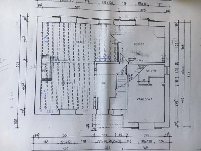 Vente maison / villa Orry la ville 344000€ - Photo 5