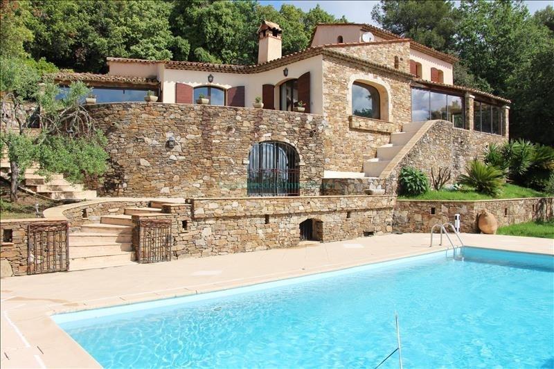 Vente de prestige maison / villa Le tignet 892000€ - Photo 1