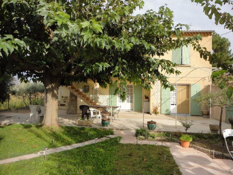Vente maison / villa Althen des paluds 415000€ - Photo 1