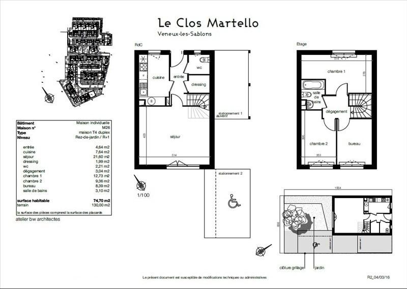 Sale house / villa Veneux les sablons 204000€ - Picture 2