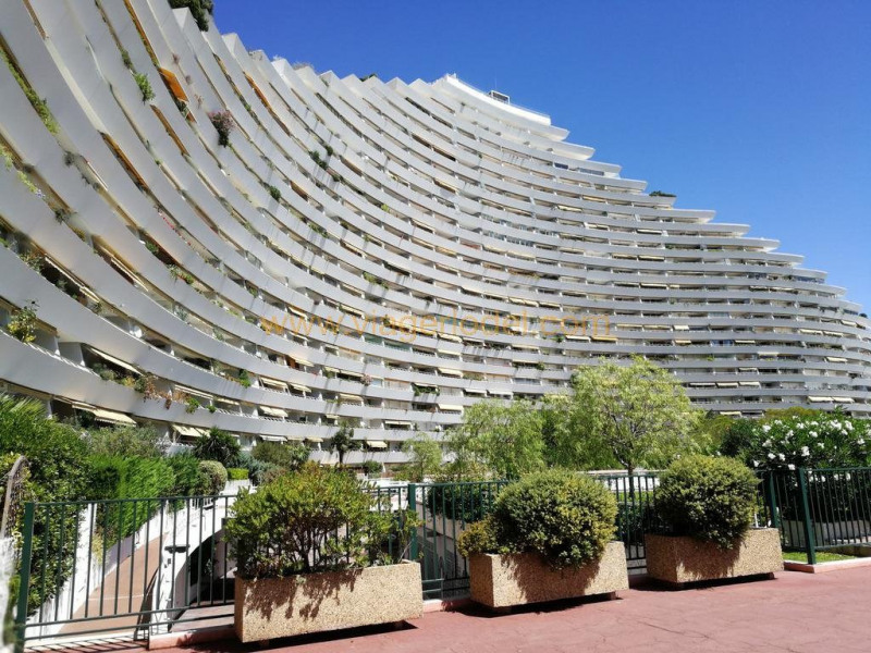 Vitalicio  apartamento Villeneuve-loubet 102000€ - Fotografía 10