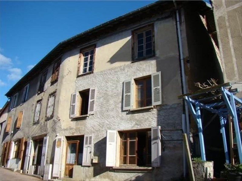 Vente immeuble Massieu 75 000€ - Photo 1