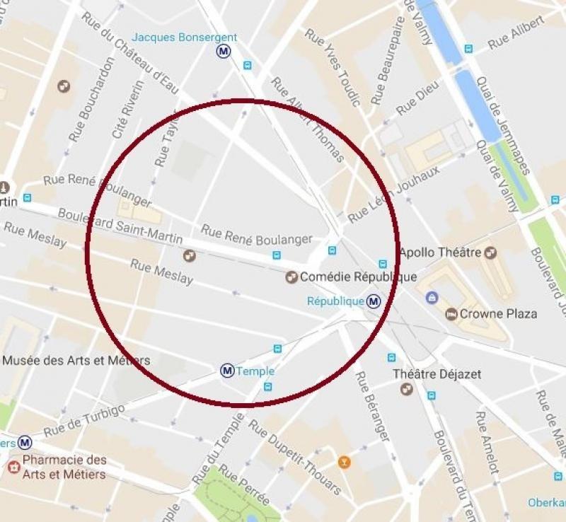 Location local commercial Paris 10ème 2500€ +CH/ HT - Photo 1