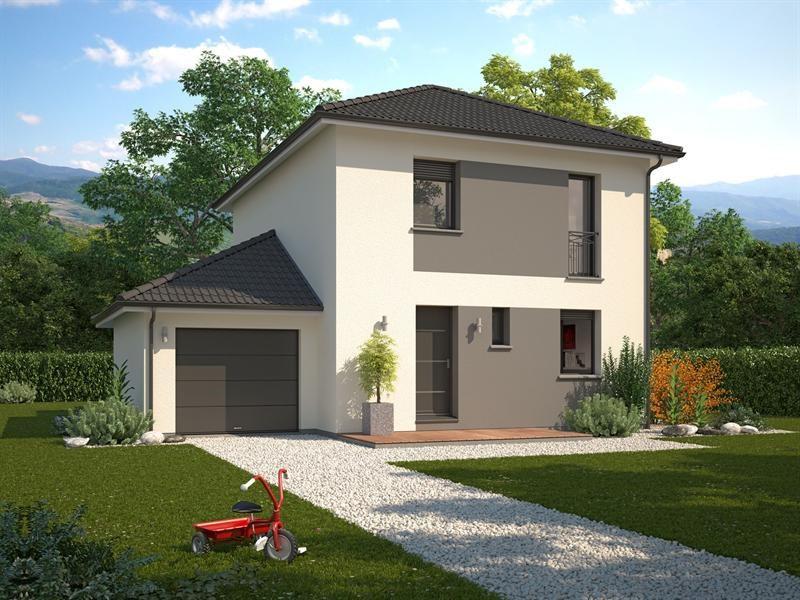 Maison  6 pièces + Terrain 486 m² Saint-Pierre-d'Albigny par MAISON FAMILIALE DRUMETTAZ CLARAFOND