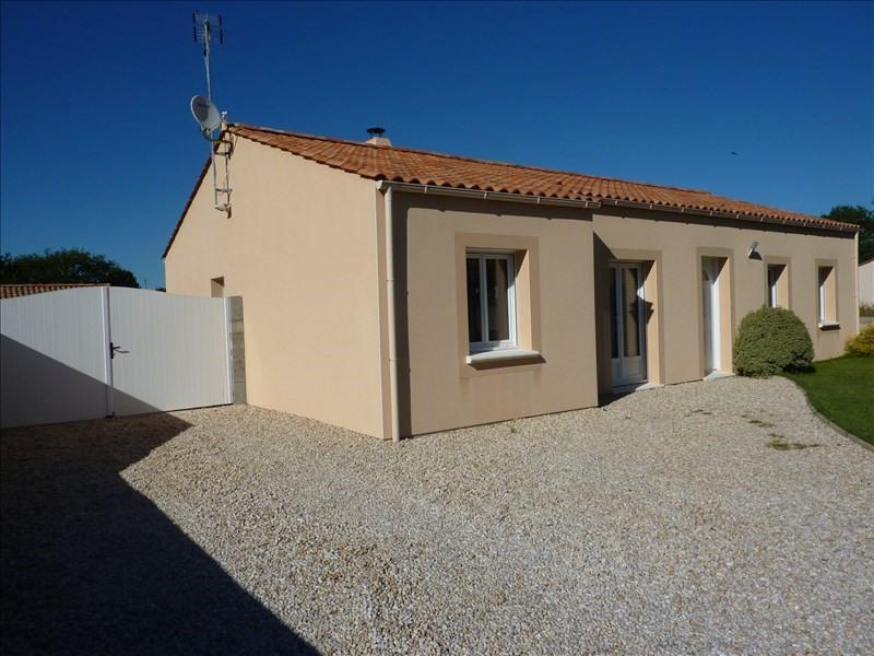 Vente maison / villa Commequiers 213000€ - Photo 2