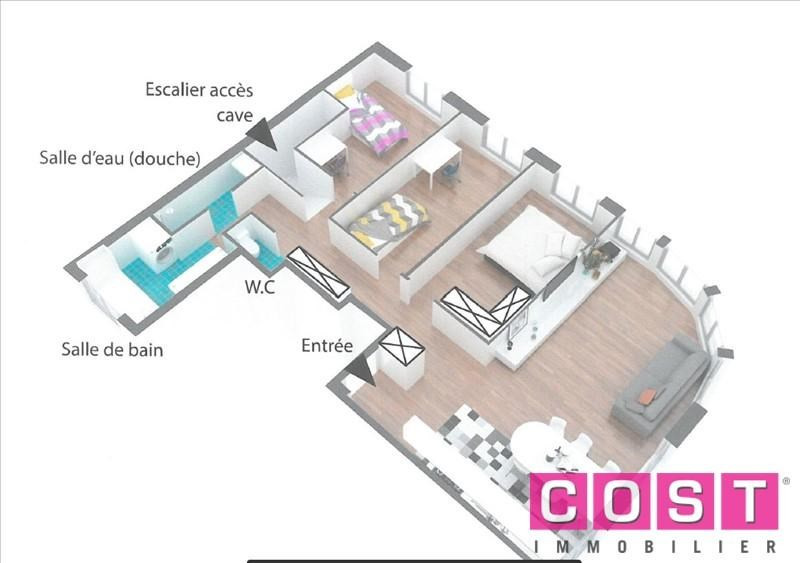 Venta  apartamento Bois colombes 428000€ - Fotografía 3