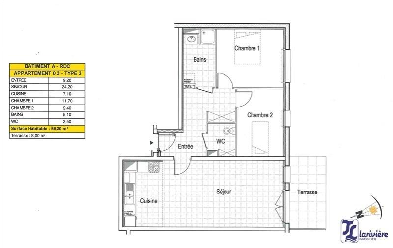 Vente appartement Wimereux 238000€ - Photo 2