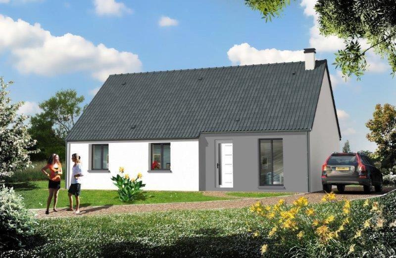Maison  5 pièces + Terrain 939 m² Bourgthéroulde Infreville par RESIDENCES INTER ROUEN