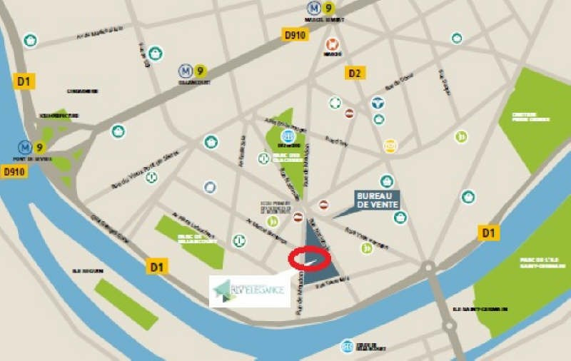 Alquiler  local Boulogne-billancourt 2700€ HT/HC - Fotografía 2