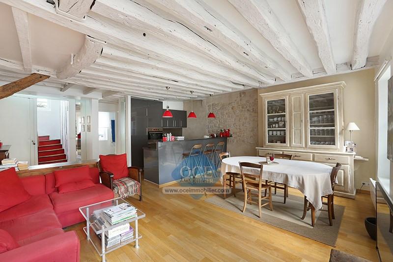 Deluxe sale apartment Paris 3ème 1090000€ - Picture 2