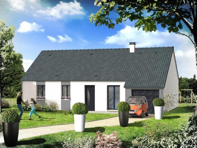 Maison  4 pièces + Terrain 544 m² Parigné le Pôlin par RESIDENCES INTER