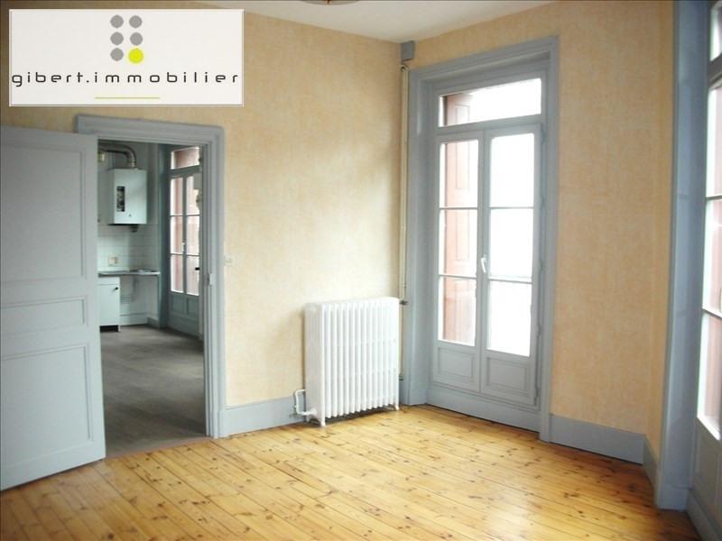 Rental apartment Le puy en velay 271,79€ CC - Picture 1
