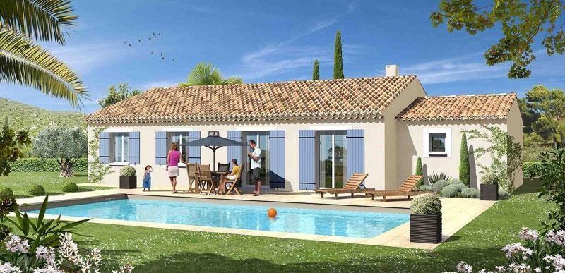 Maison  4 pièces + Terrain 500 m² Brue Auriac par MAISONS AVENIR TRADITION