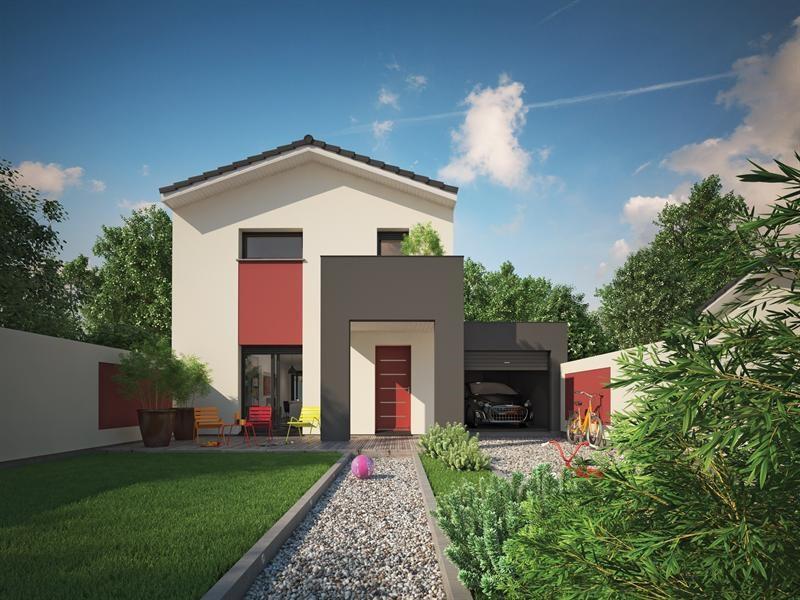 """Modèle de maison  """"Villa sören"""" à partir de 3 pièces Gironde par COULEUR VILLAS VILLENAVE D ORNON"""