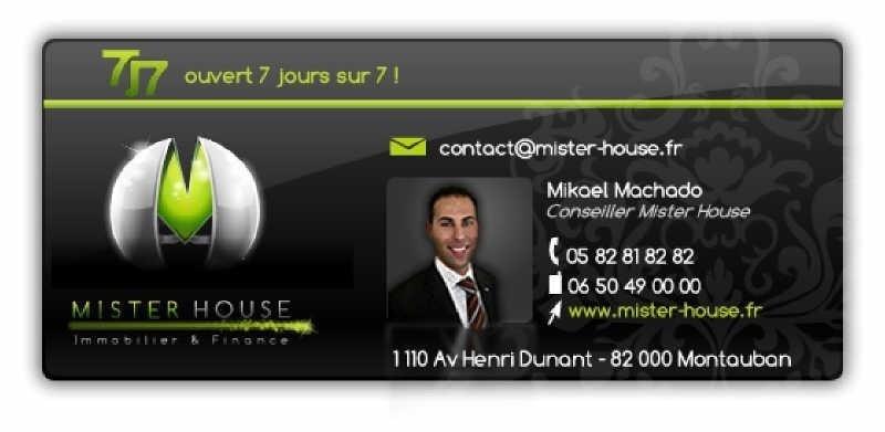 Vendita casa Montech 258500€ - Fotografia 7
