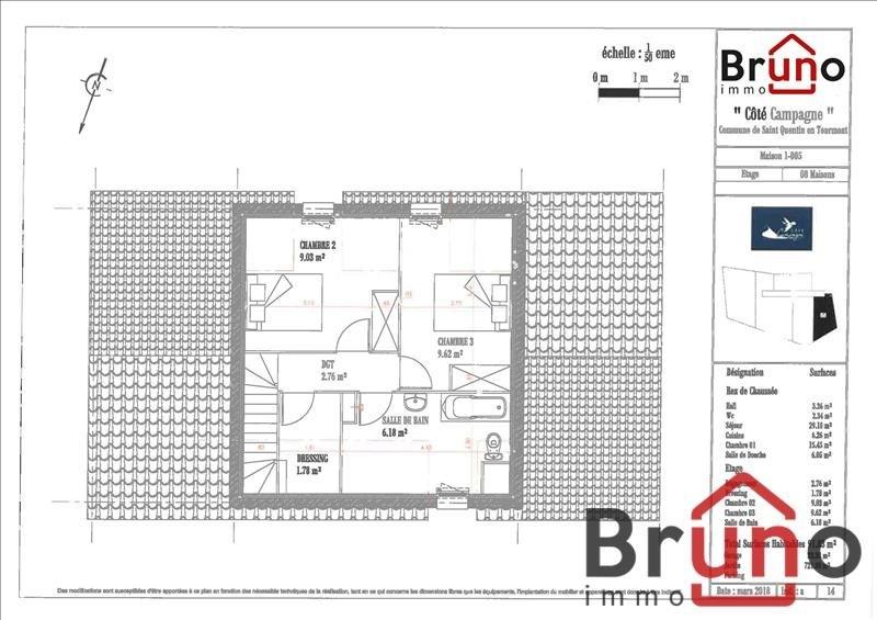 Vendita casa St quentin en tourmont 380000€ - Fotografia 5