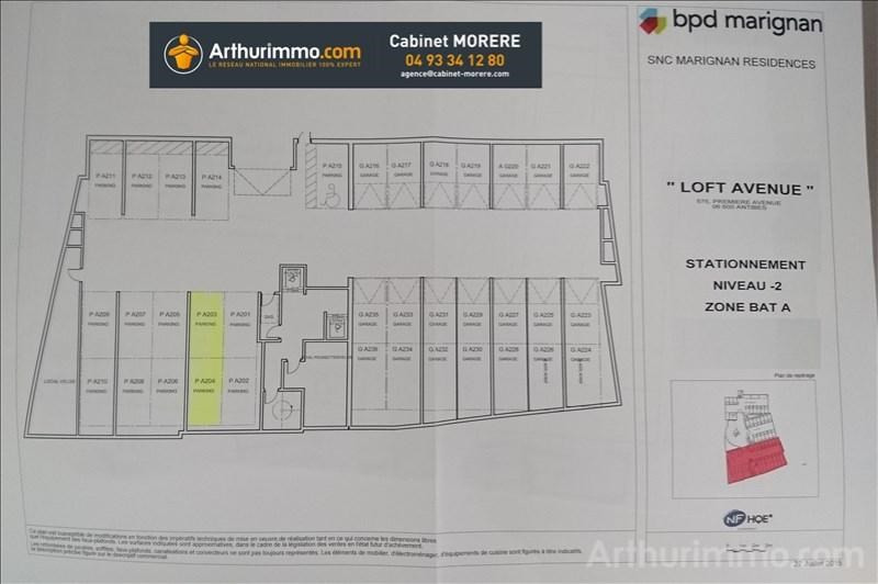 Sale parking spaces Antibes 30000€ - Picture 4