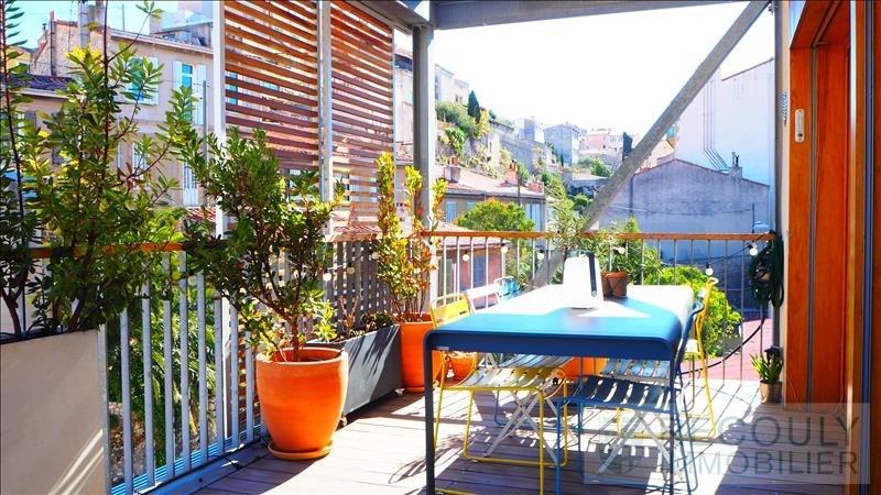 Vente de prestige appartement Marseille 6ème 570000€ - Photo 1