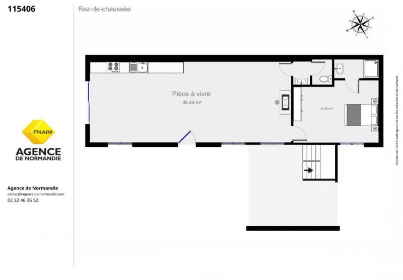 Vente maison / villa La ferte-frenel 115000€ - Photo 6