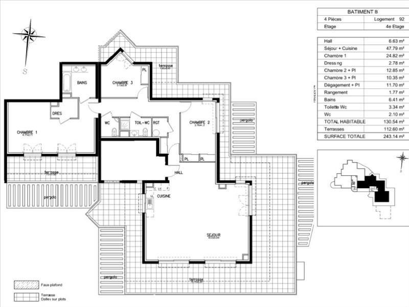 Sale apartment Beausoleil 1640000€ - Picture 2