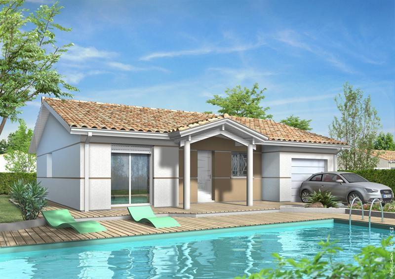 Maison  5 pièces + Terrain 844 m² Doazit par LES MAISONS LCA MONT DE MARSAN