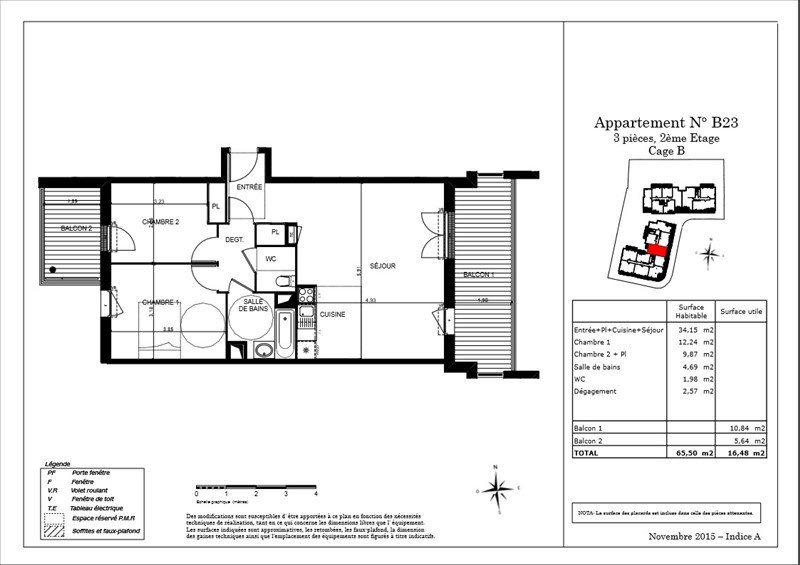 Vente appartement Toulouse 257700€ - Photo 3