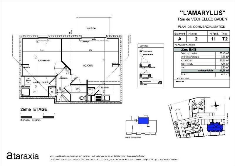 Location appartement Baden 460€ CC - Photo 2