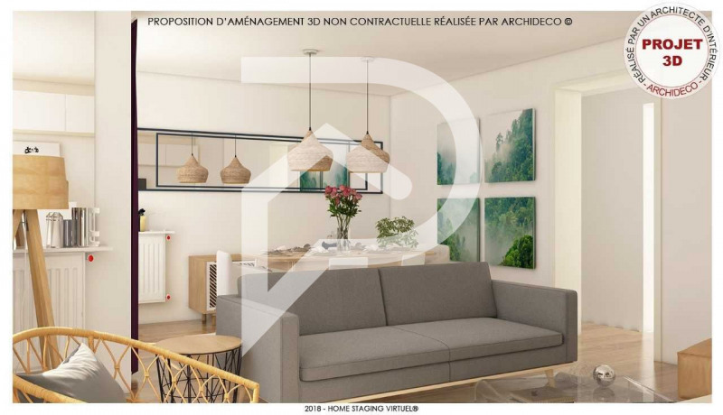 Vente appartement Eaubonne 210000€ - Photo 1