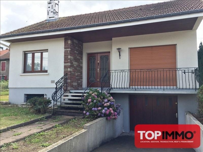 Rental house / villa Baccarat 700€ CC - Picture 1