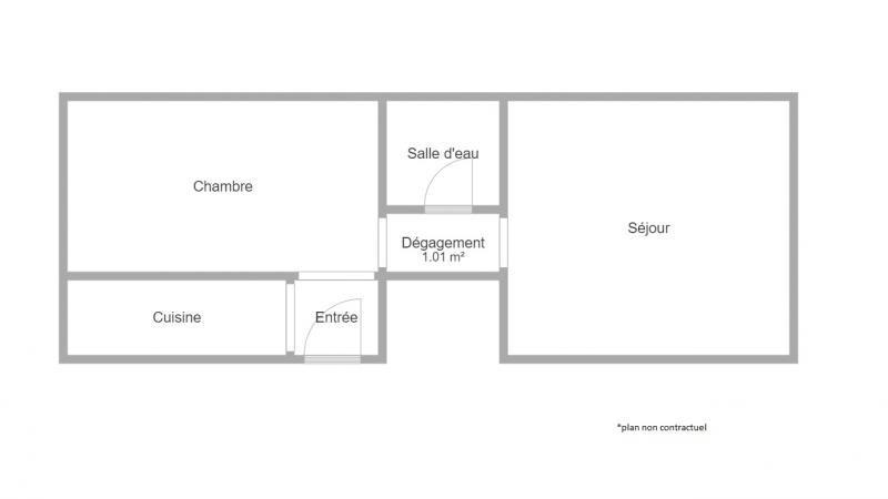Rental apartment Fontenay sous bois 750€ CC - Picture 1