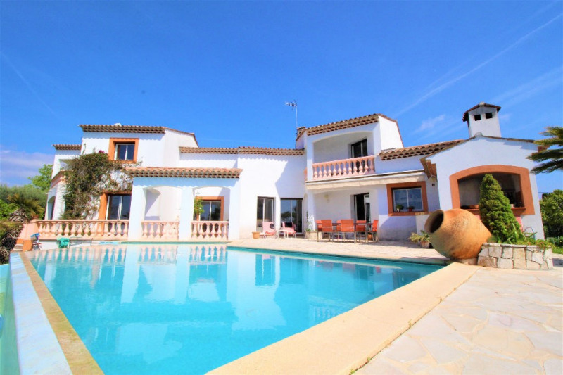Deluxe sale house / villa Villeneuve loubet 1890000€ - Picture 1