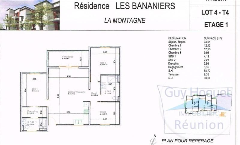 Vente appartement La montagne 281000€ - Photo 1