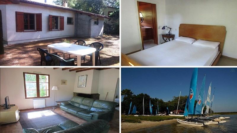 Vacation rental house / villa Lacanau 495€ - Picture 1