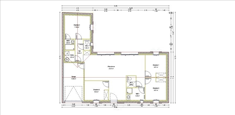 Sale house / villa La tranche sur mer 213570€ - Picture 2