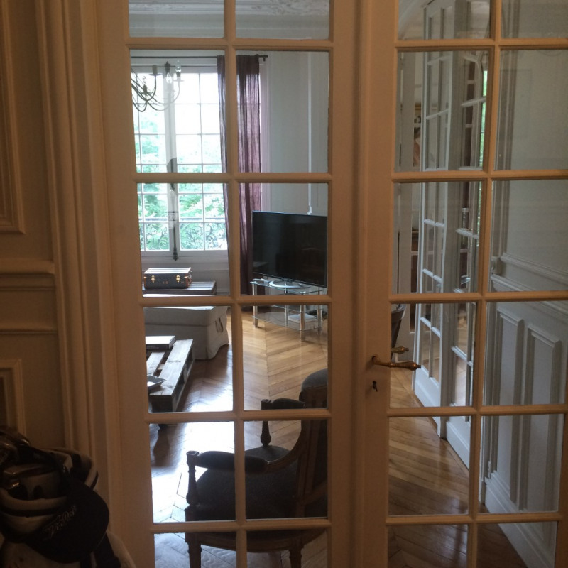 Rental apartment Paris 8ème 3 500€ CC - Picture 2
