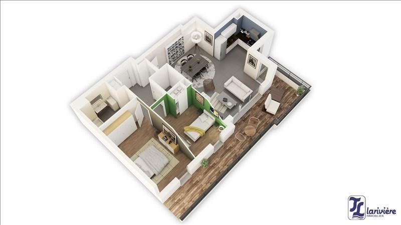 Vente appartement Wimereux 258000€ - Photo 4