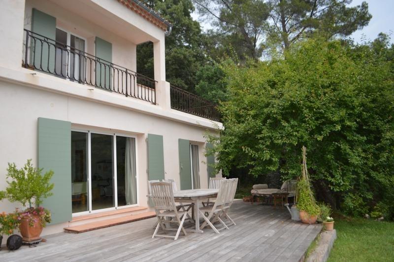 Verkauf von luxusobjekt haus Bagnols en foret 630000€ - Fotografie 1