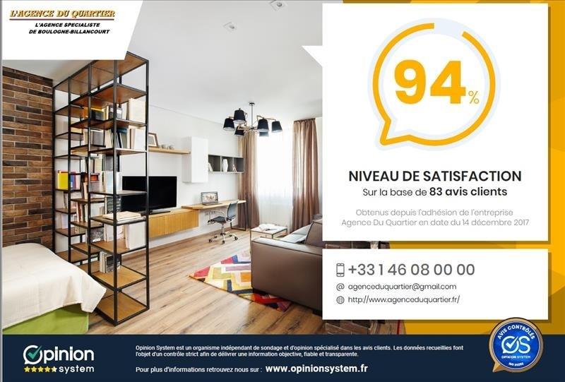 Venta  apartamento Boulogne billancourt 741000€ - Fotografía 8