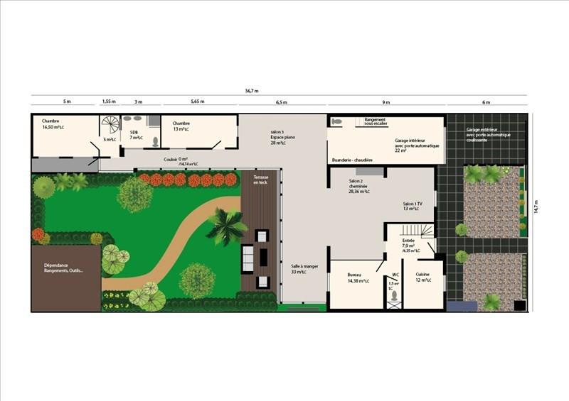Vente maison / villa Colombes 860000€ - Photo 6