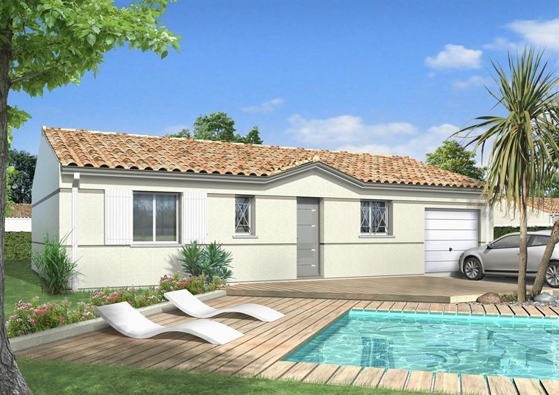 Maison  5 pièces + Terrain 450 m² Saint Sever (40500) par LES MAISONS LCA MONT DE MARSAN