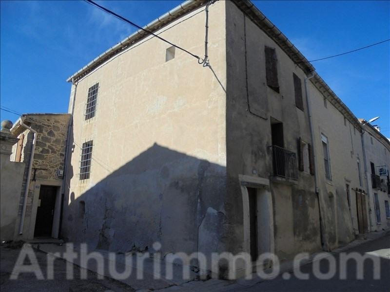 Sale house / villa Pouzols 60000€ - Picture 1