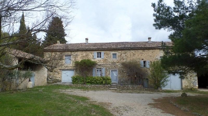 Vente maison / villa Chantemerle-lès-grignan 495000€ - Photo 1