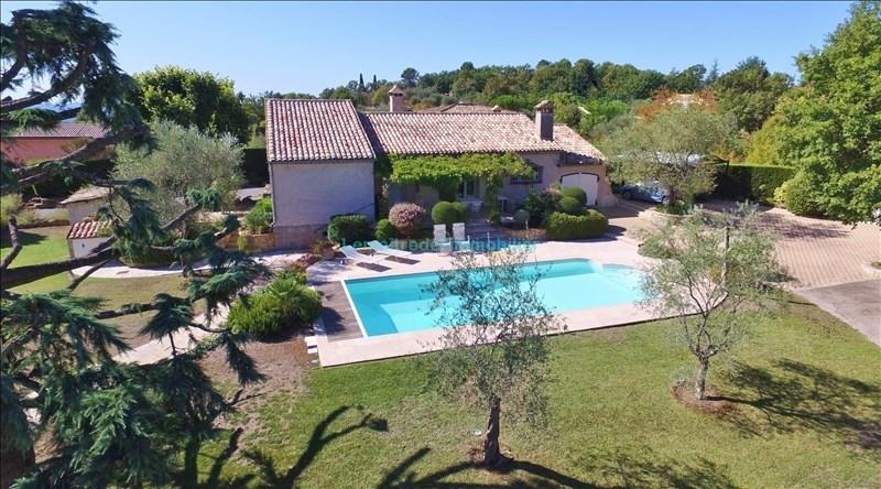 Vente de prestige maison / villa Saint cezaire sur siagne 575000€ - Photo 1