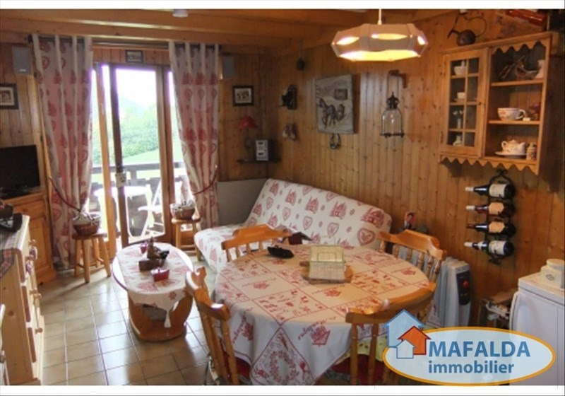 Vente appartement Mont saxonnex 107000€ - Photo 2
